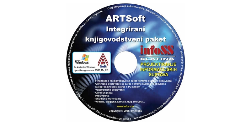 artsoft cd infoss
